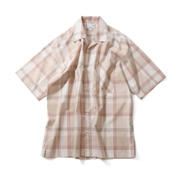 HORLISUNOphir Various Multi Check Loosefit Shirts(Beige)