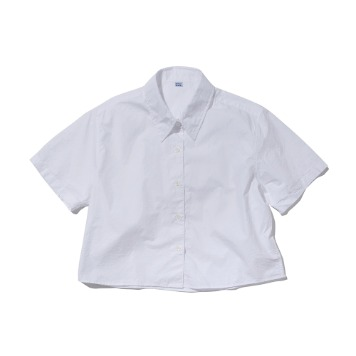 SOFTURShort Sleeve Shirt(White)