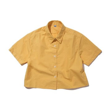 SOFTURShort Sleeve Shirt(Yellow)
