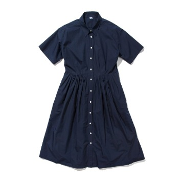 SOFTURPleated One-Piece(Navy)