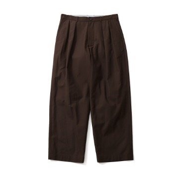 HORLISUNCorinth Wide Loose Pants(Brown)10% Off