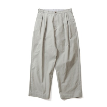 HORLISUNCorinth Wide Loose Pants(Gray Beige)