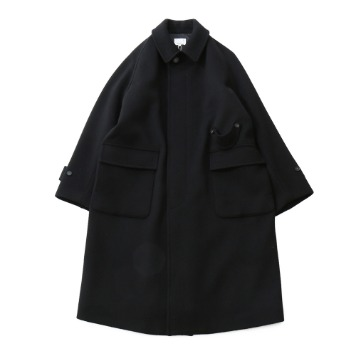 HORLISUNWinterport Wool Long Coat(Black)