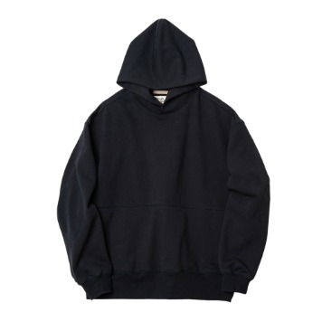ROUGH SIDE111.Oversized Hoodie(Navy)