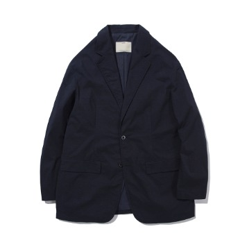 POTTERYCotton Single Breasted Jacket(Navy)