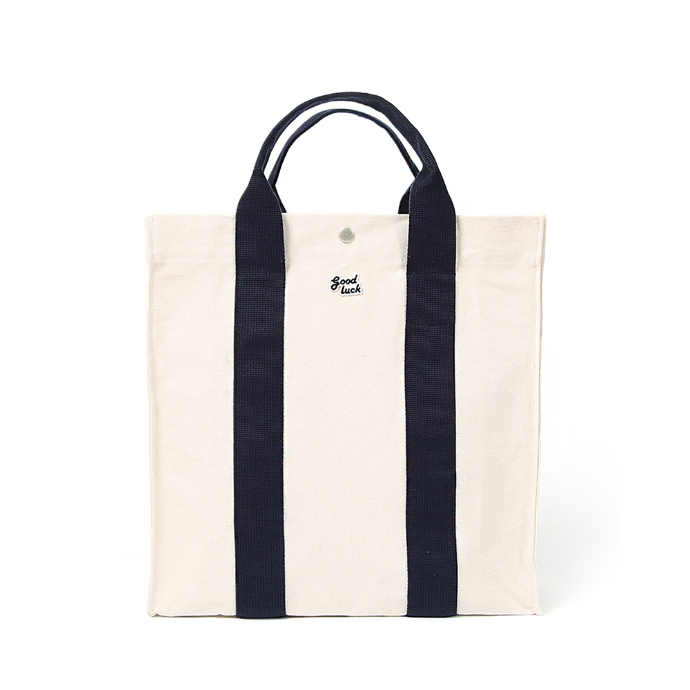 GOOD NIGHT & GOOD LUCKBig House Tote Bag(Ecru/Navy)30% off w 78,000