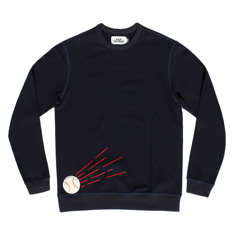 KICK THE BEATBeat Ball Sweat(Navy)30% Off