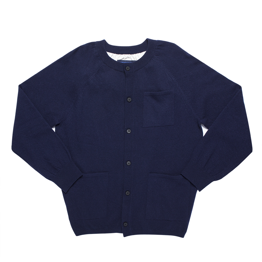 DOCUMENTRound Cardigan(Blue)30% off
