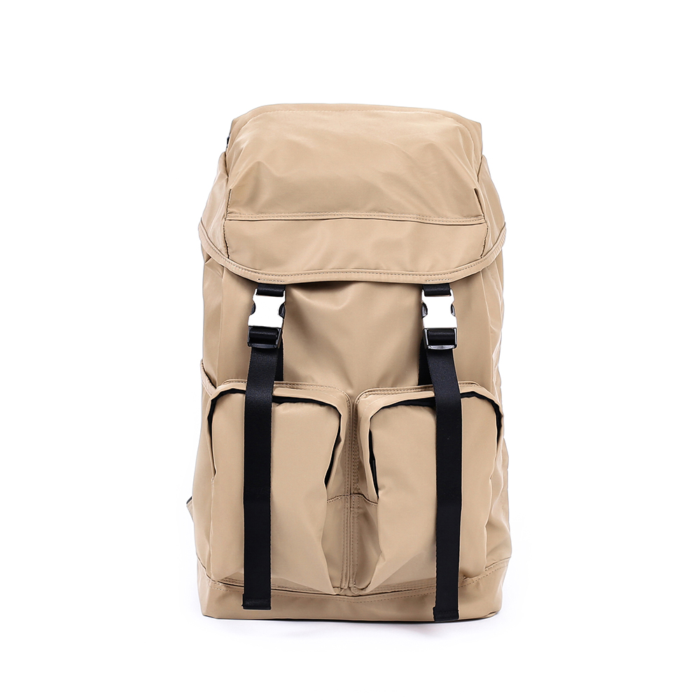 MAZI UNTITLEDNylon All Day Bag(Beige)30% Off