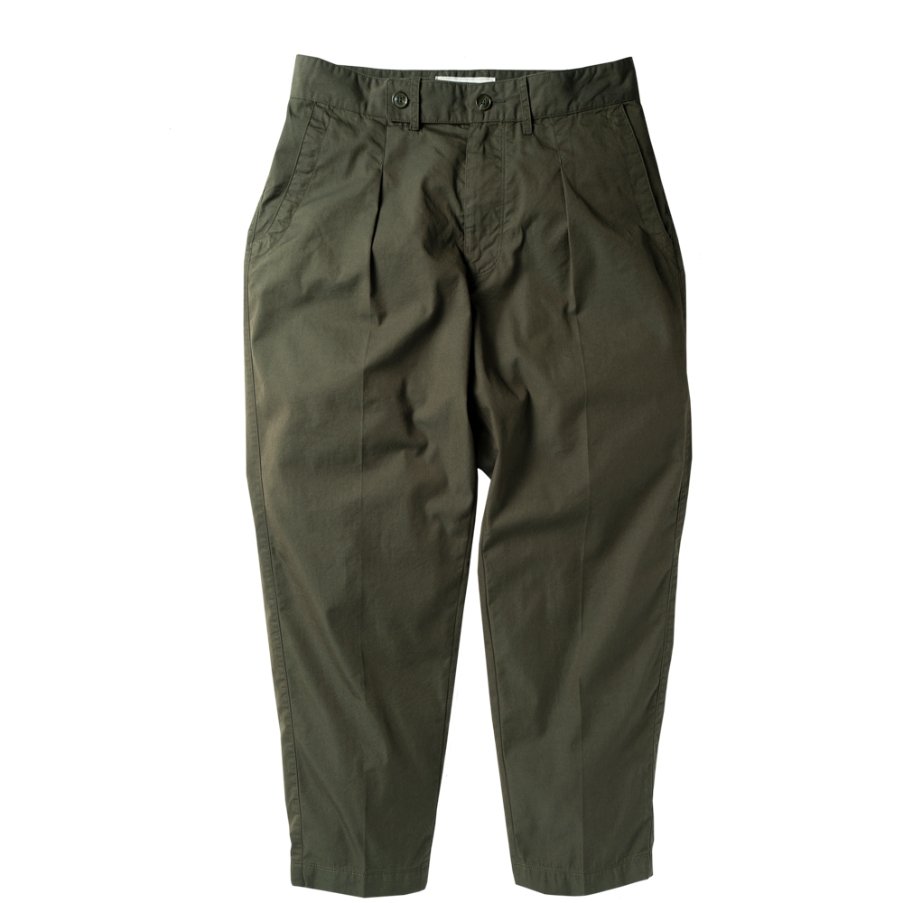 ROUGH SIDERelaxed Trousers(Olive)30% Off