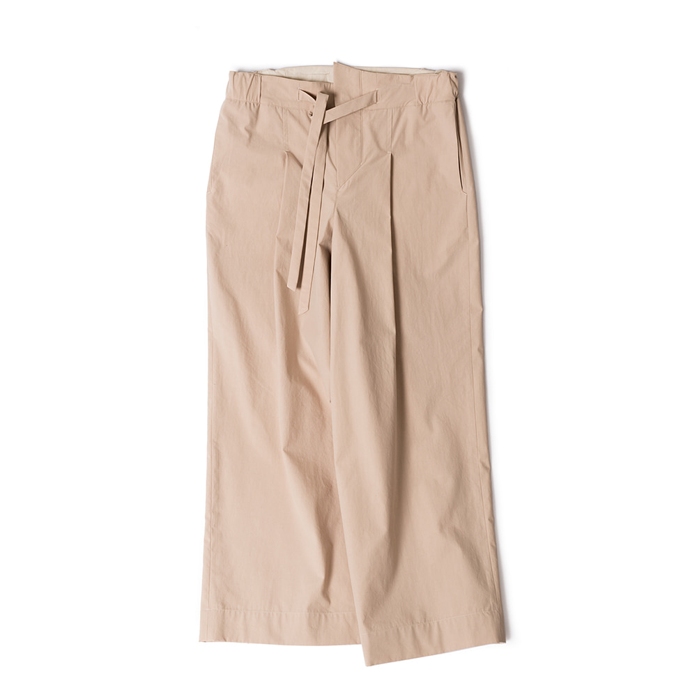 POLYTERUBelted Wide Pants(Beige)