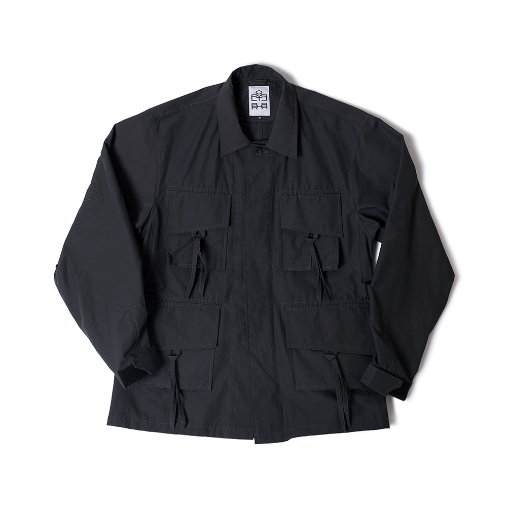 POLYTERUFatigue Jacket(Charcoal)