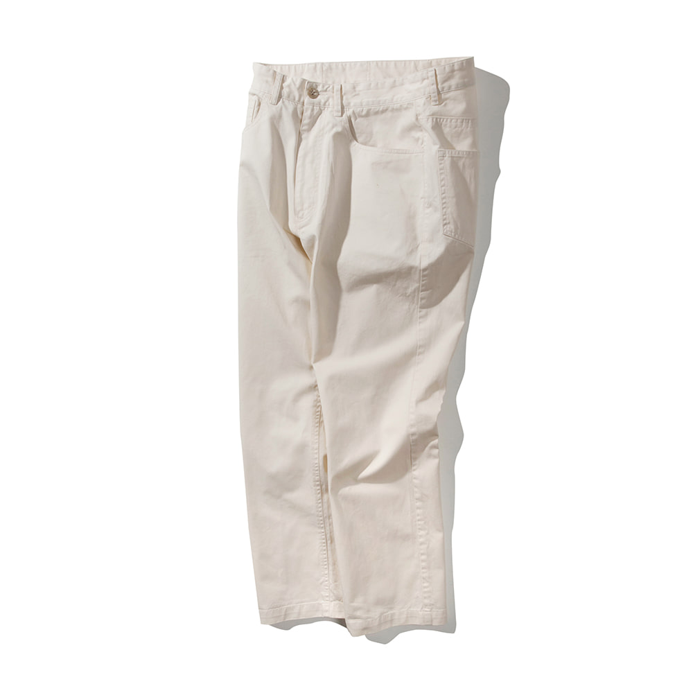 POTTERYWashed Chino Pants(White)