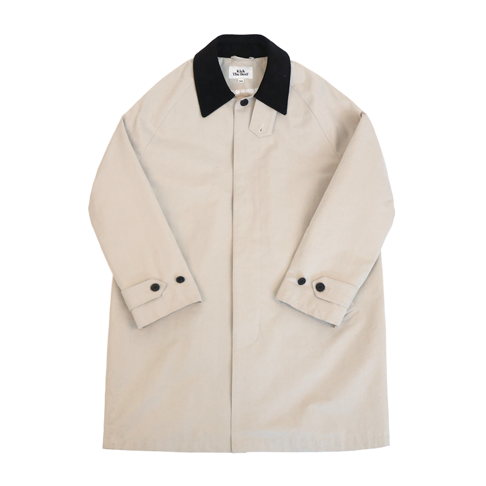 KICK THE BEATUnisex Mac Coat(Sand)