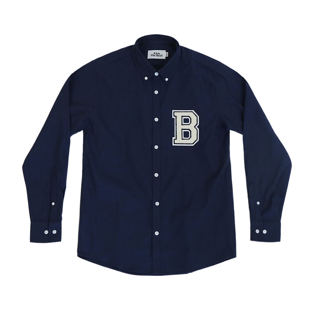 KICK THE BEAT'B' Shirts(Deep Blue)