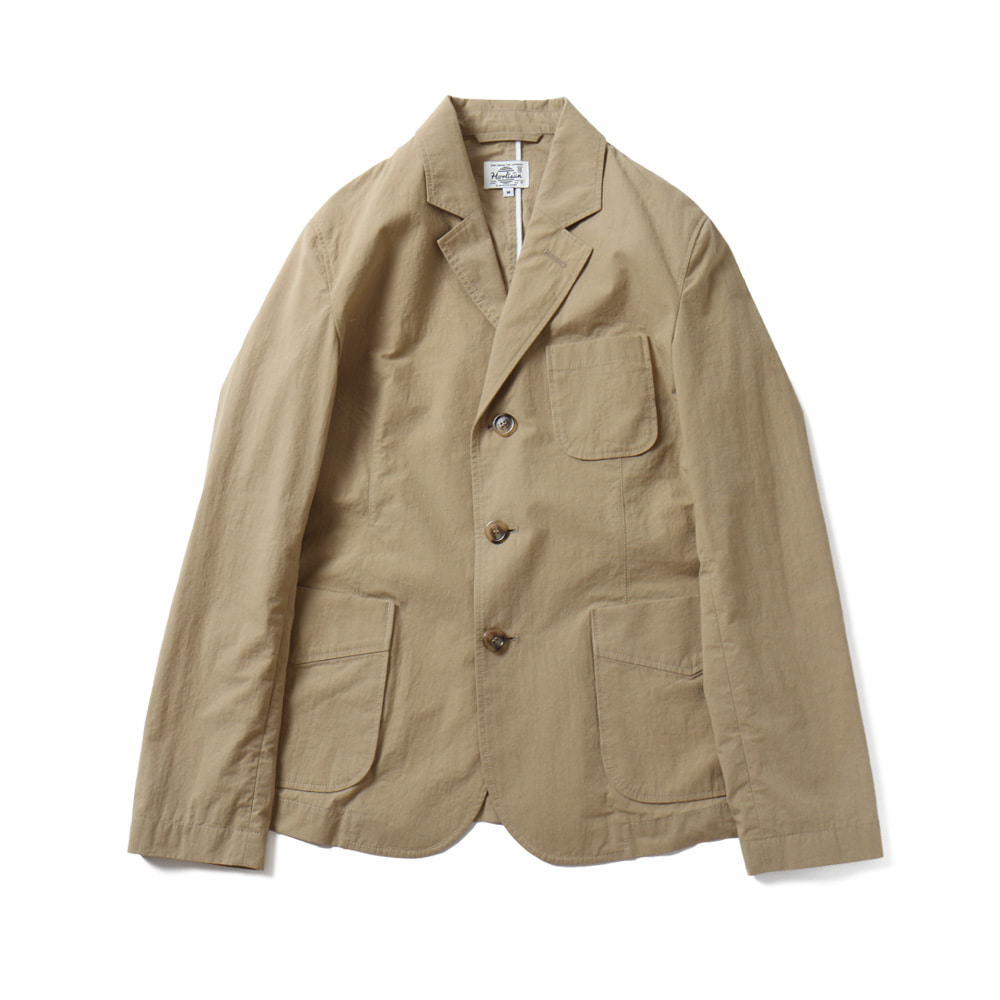 HORLISUNAston 3 Pocket Typewriter Jacket(Beige)10% Off