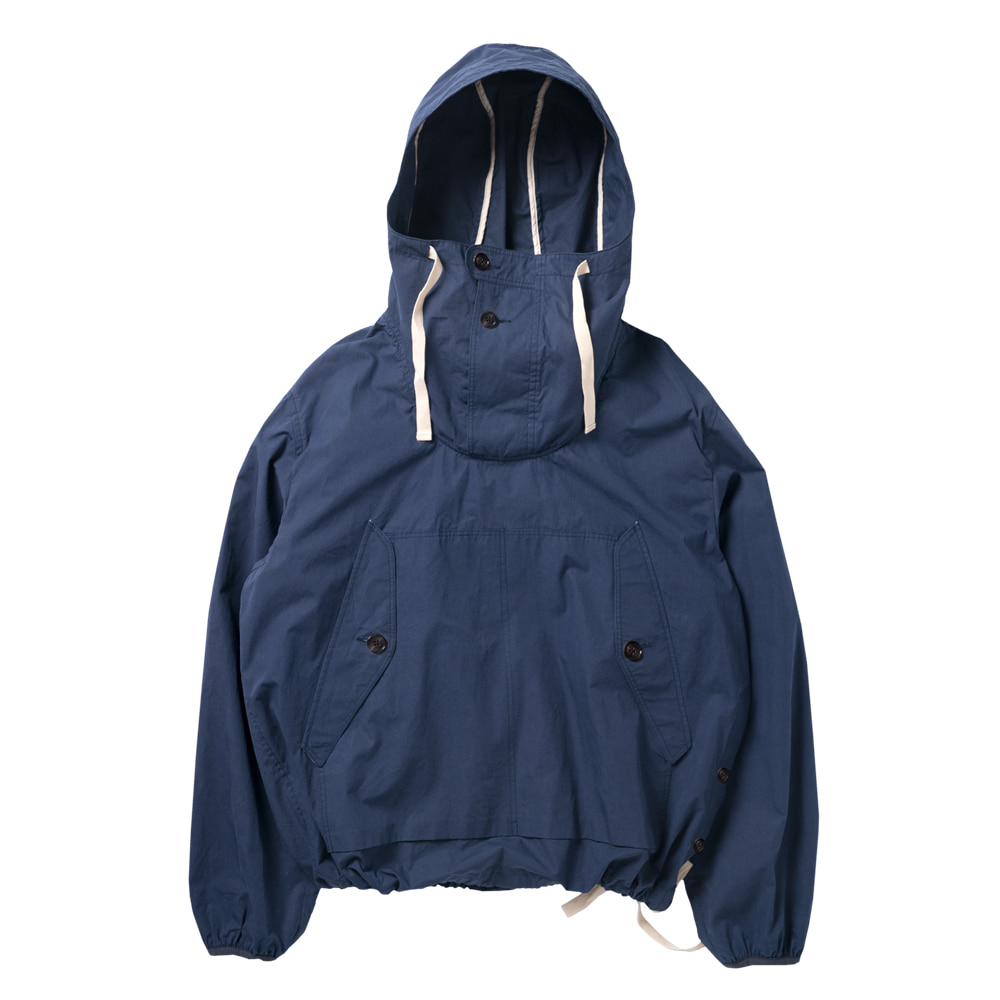 ROUGH SIDECotton Anorak(Dark Blue)