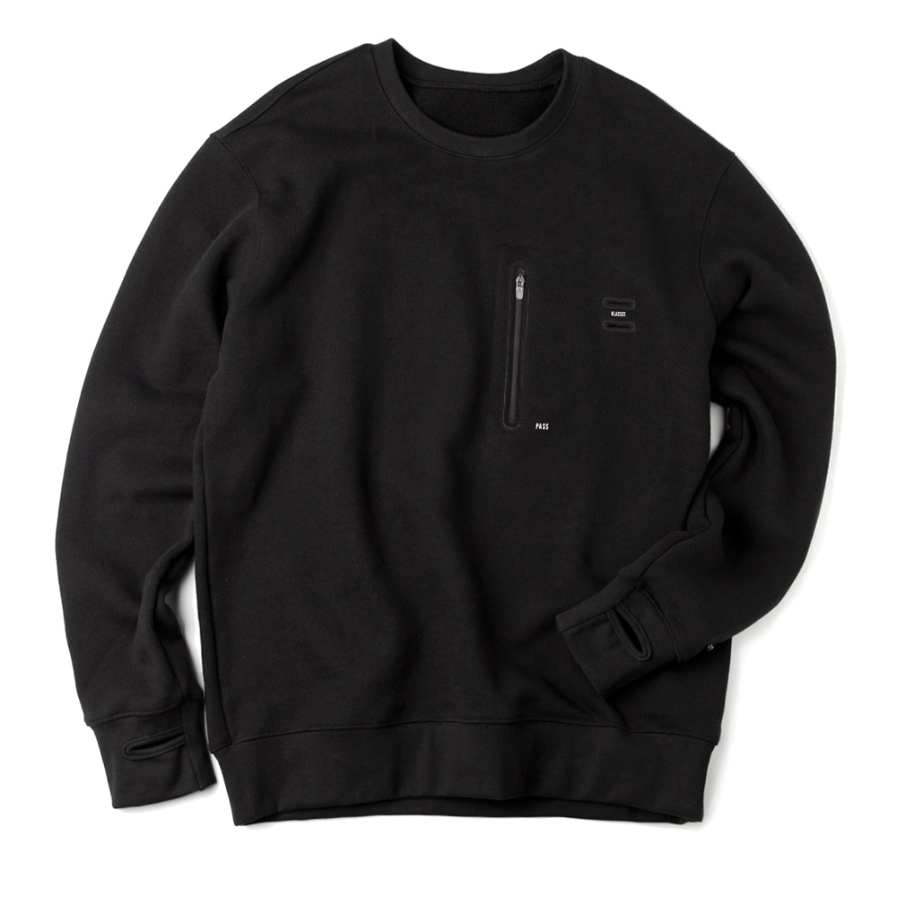 GAVANCUnisex Signature Traveler Sweatshrt34% Off(Black)