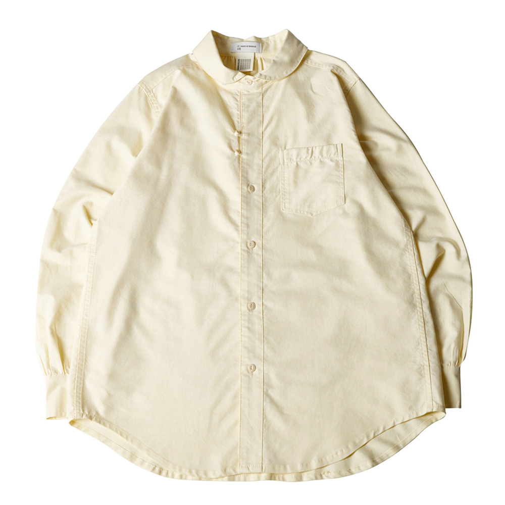 TOEBack Pocket Comfy Shirt(Yellow)30% Off