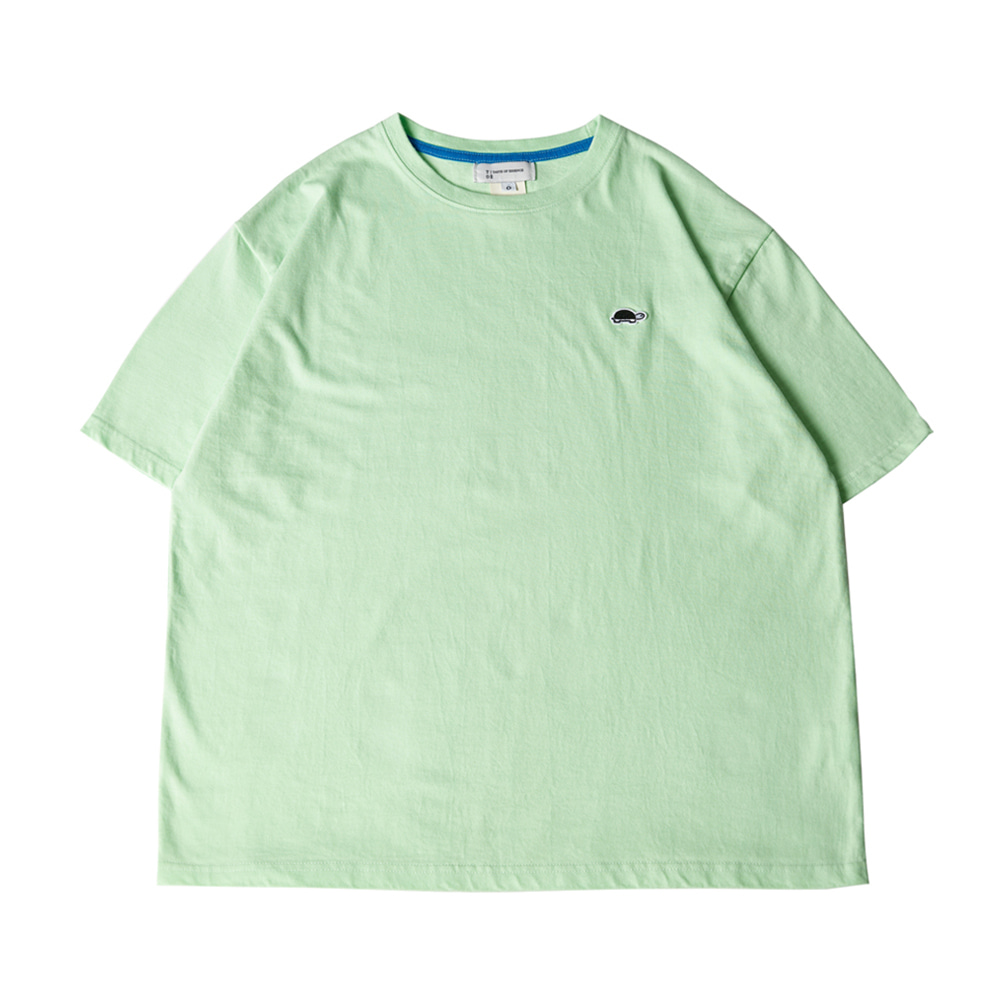TOEUnisex EMB Short Sleeve T(Mint)30% Off