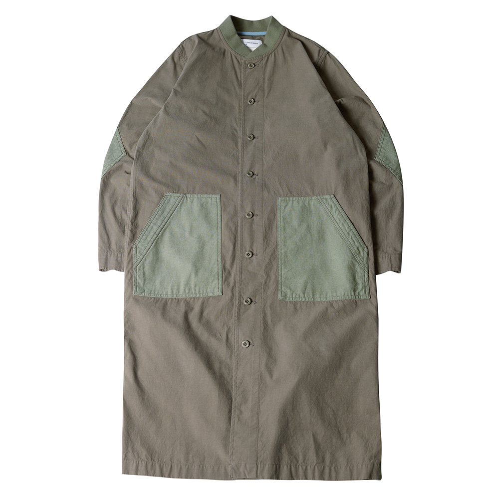 TOEWoven Safari Dress(Khaki)30% Off