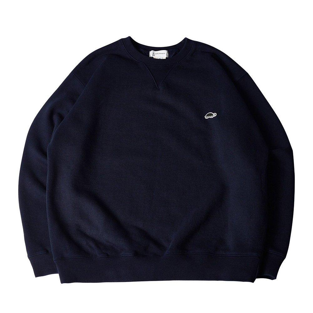 TOEUnisex EMB Long Sleeve Sweatshirt(Navy)30% Off