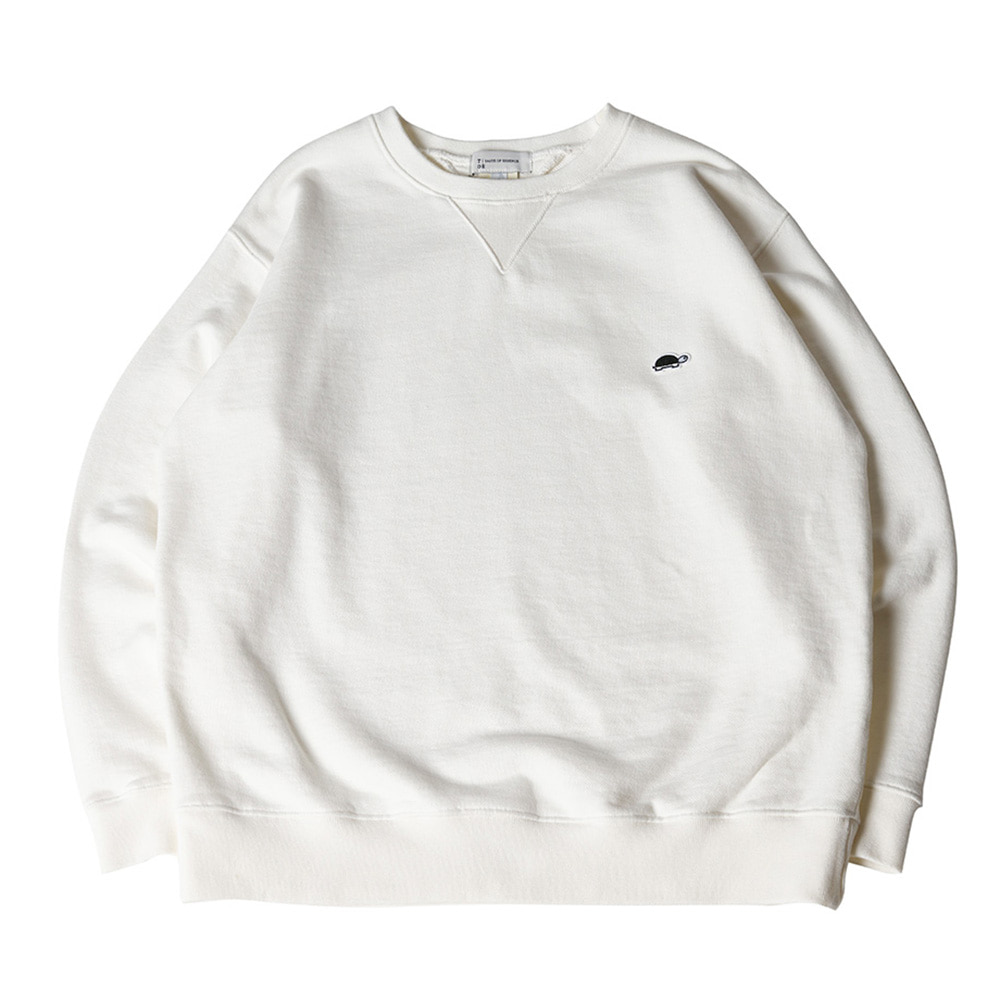 TOEUnisex EMB Long Sleeve Sweatshirt(White)30% Off