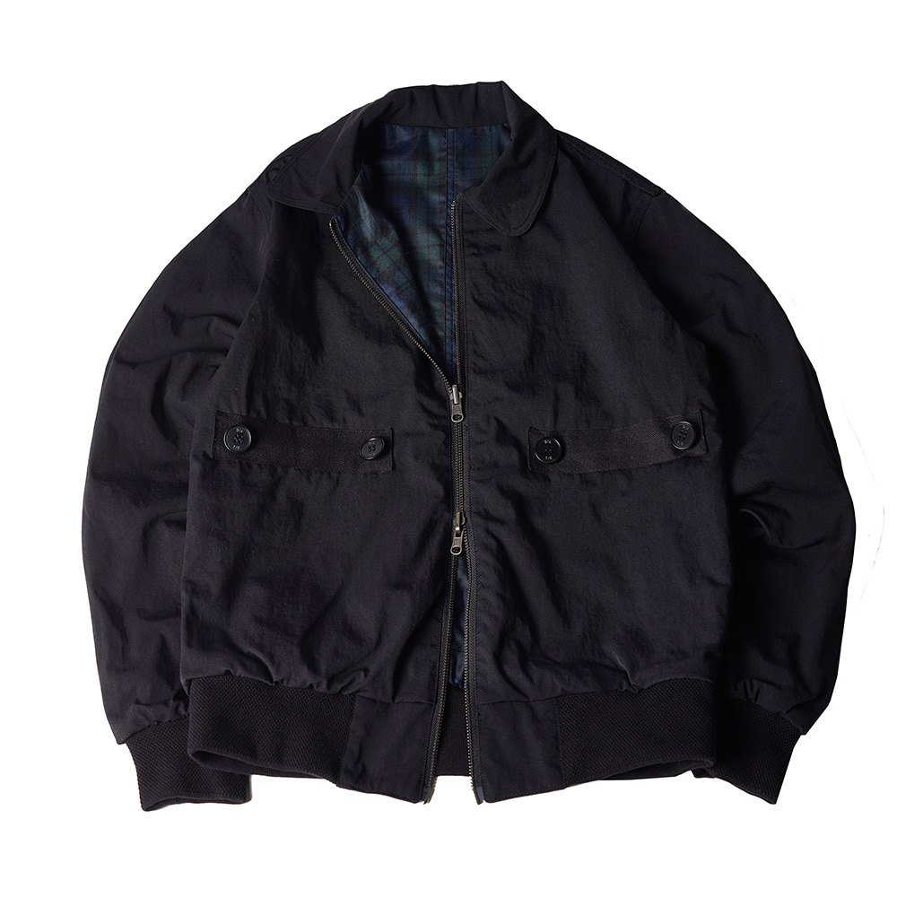TOEReversible  Jacket(Black/Black Watch)