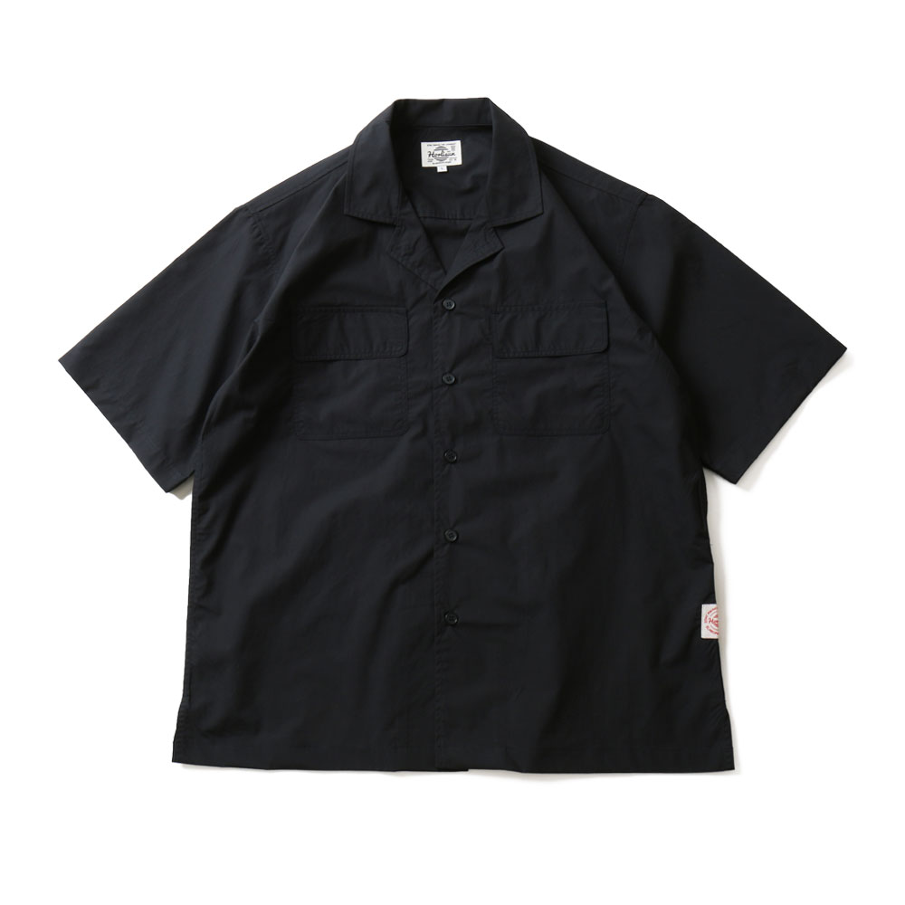 HORLISUNJoshua Extra High Density Solid Open Shirts(Navy)10% Off