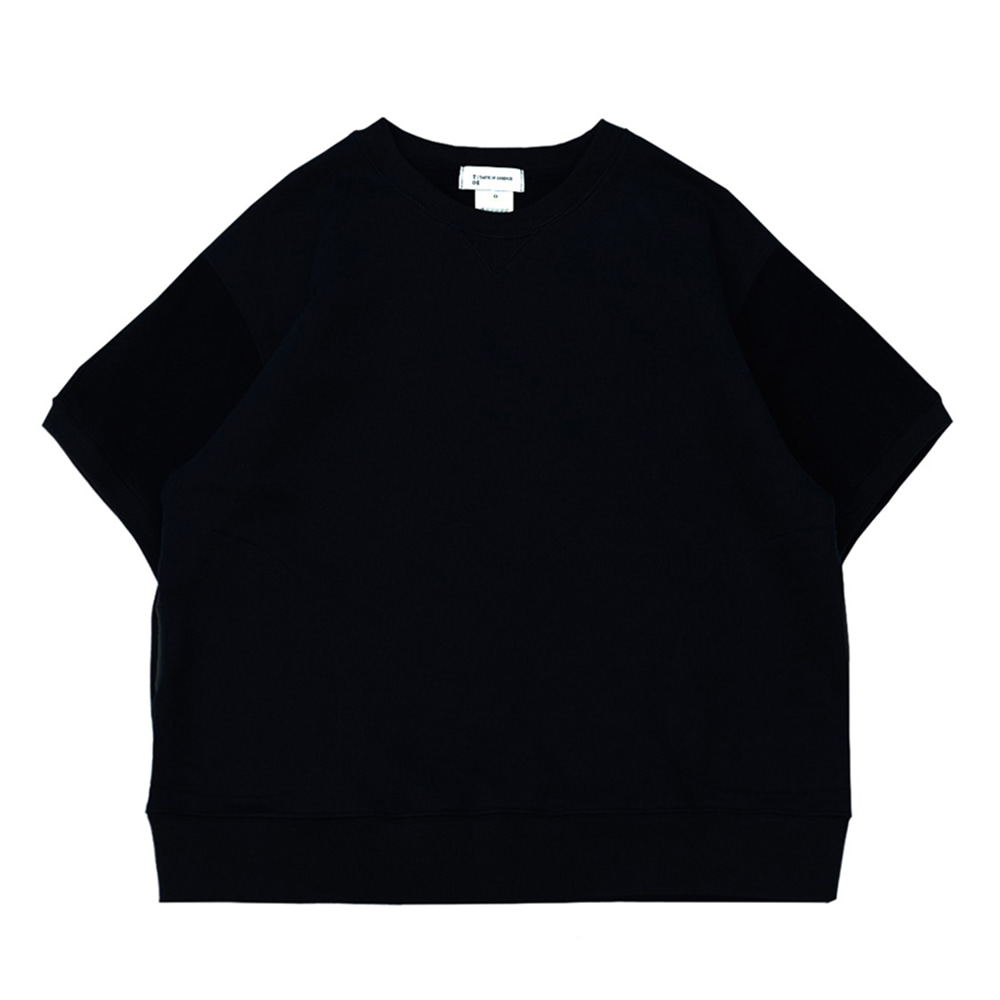 TOEHalf Sleeve Pocket Sweatshirt(Navy)30% Off