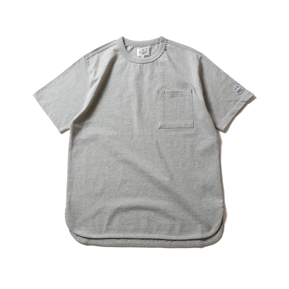 HORLISUNEmery Short Sleeve Pocket T(Gray)10% Off