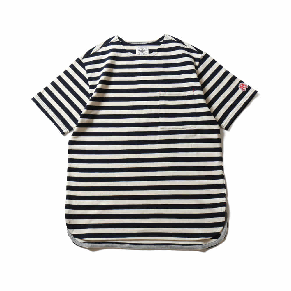 HORLISUNUnion Short Sleeve Pocket T(Navy)10% Off