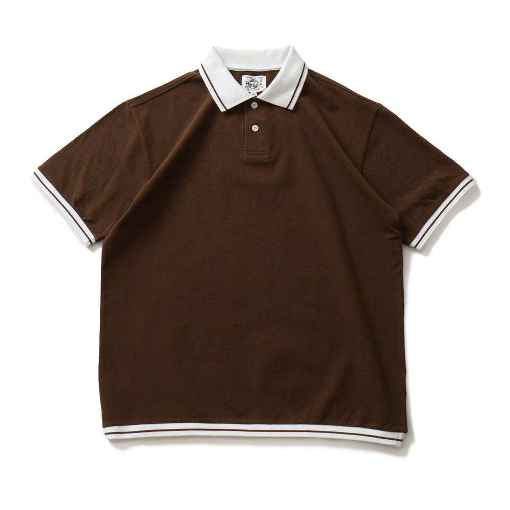 HORLISUNSummerset Pique Shirts(Brown)20% Off