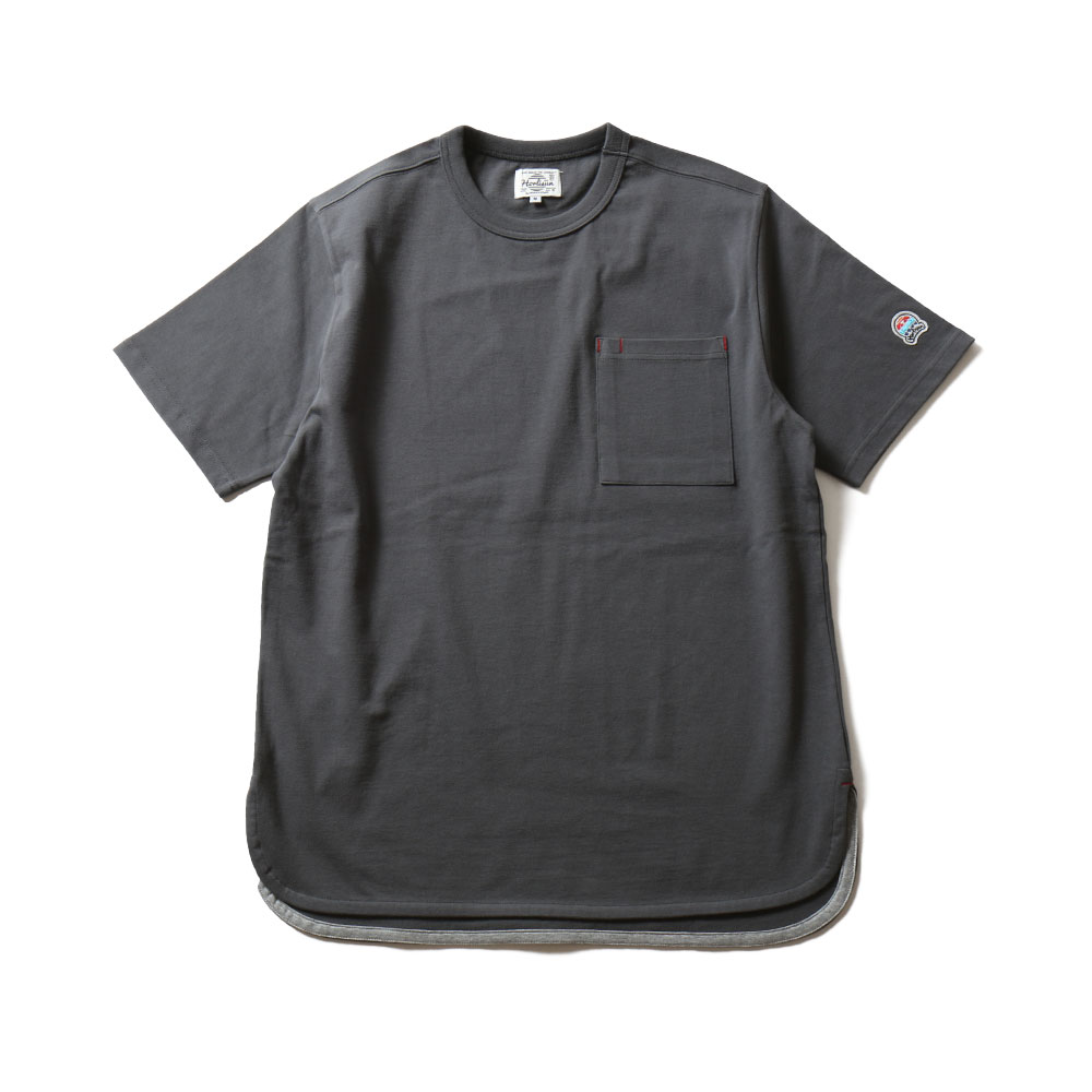 HORLISUNEmery Short Sleeve Pocket T(Charcaol)10% Off