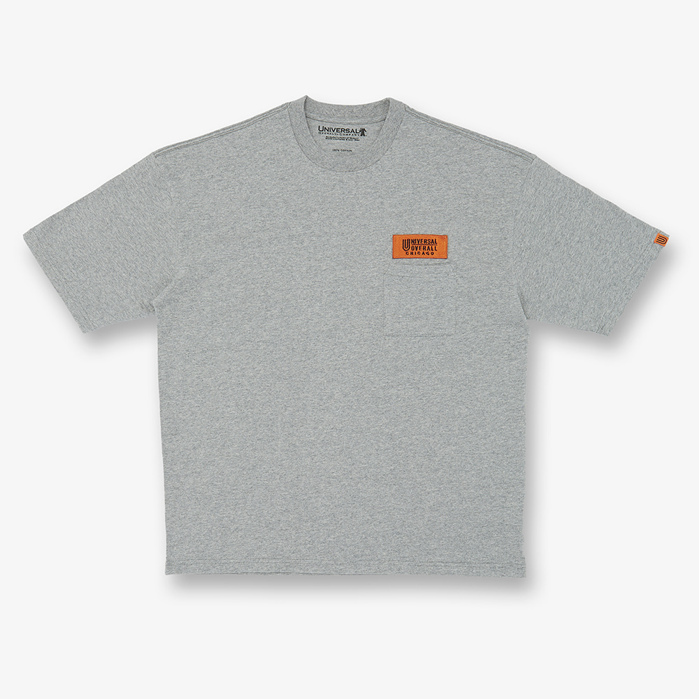 UNIVERSAL OVERALLWappen Logo T(Grey)30% Off