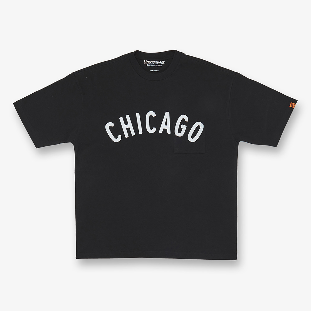UNIVERSAL OVERALLCHICAGO T(Black)30% Off
