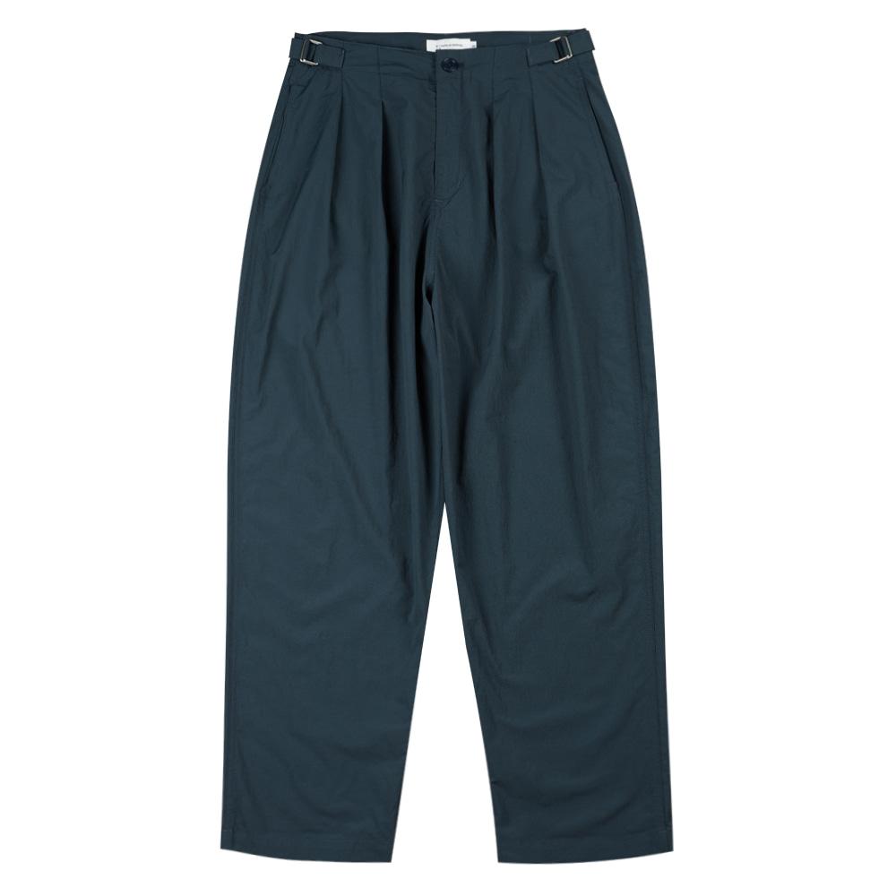 TOEUnisex Pintuck Pants(Dark Green)30% Off