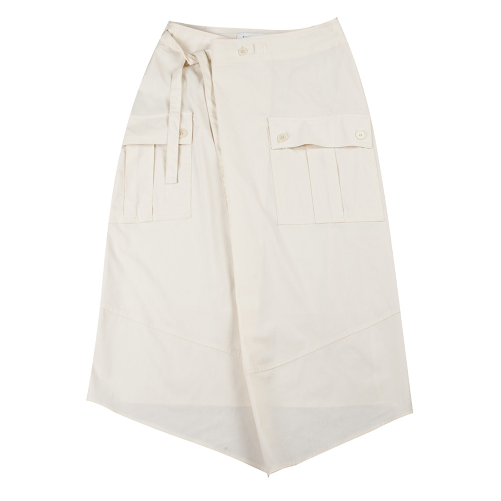 TOESafari Skirt(Ivory)30% Off