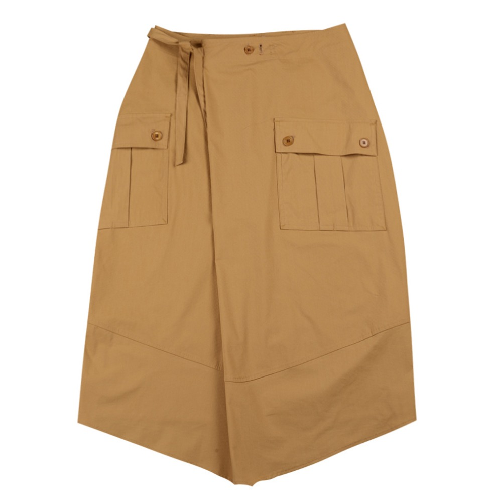 TOESafari Skirt(Beige)30% Off
