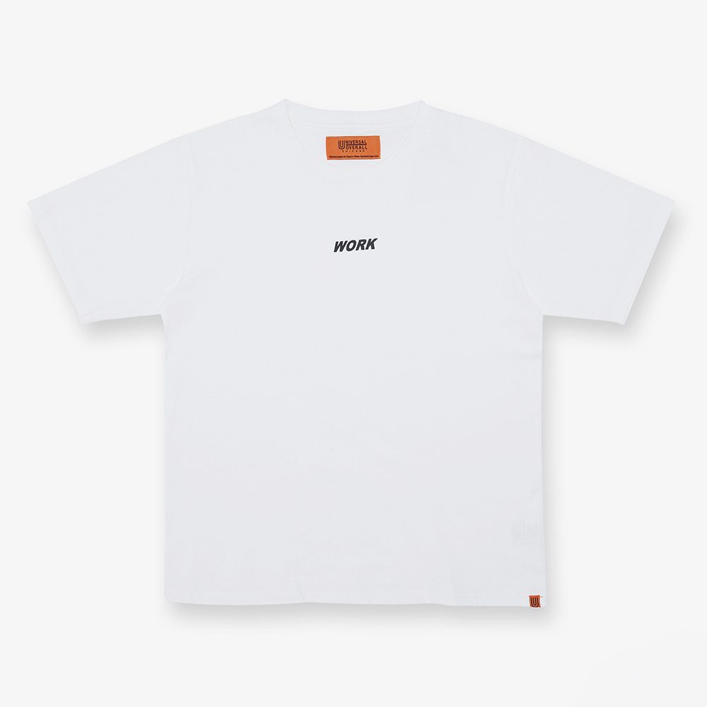 UNIVERSAL OVERALLWork Logo T(White)30% Off