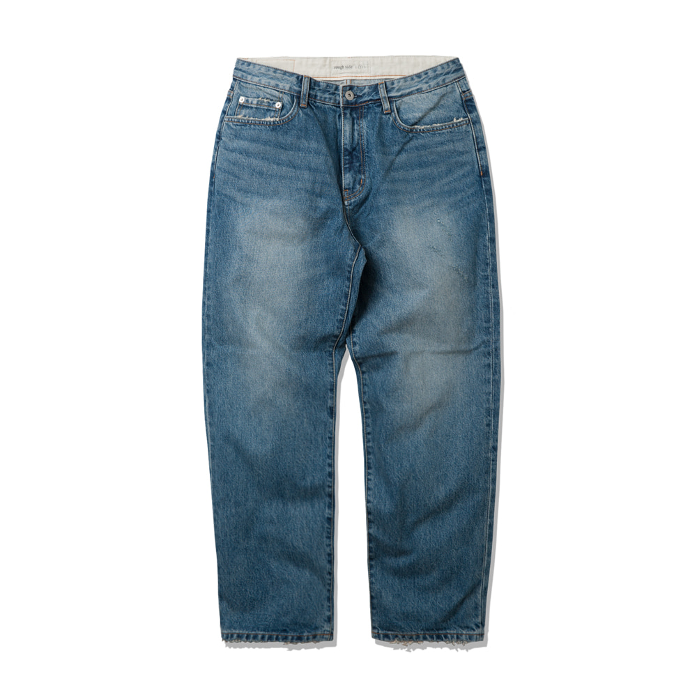 ROUGH SIDEDamaged Denim Pants(L.Blue)