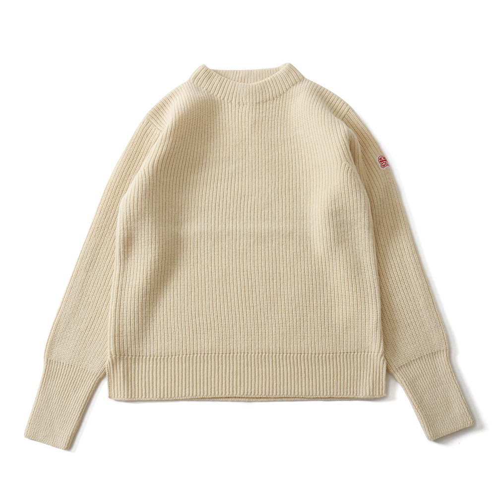 HORLISUNNorthyork Crewneck Slit Heavy Knit(Cream)10% Off