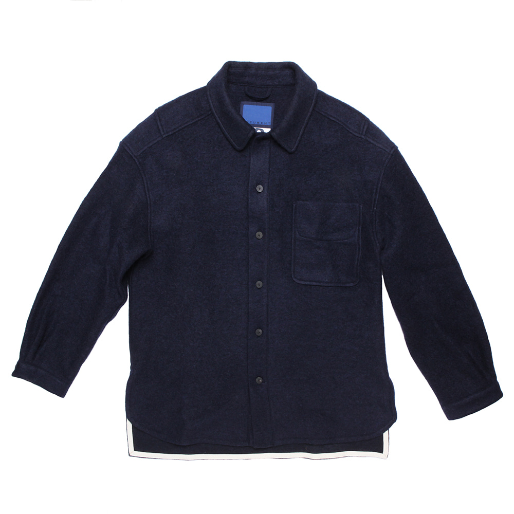 DOCUMENTWool Shirts(Navy)