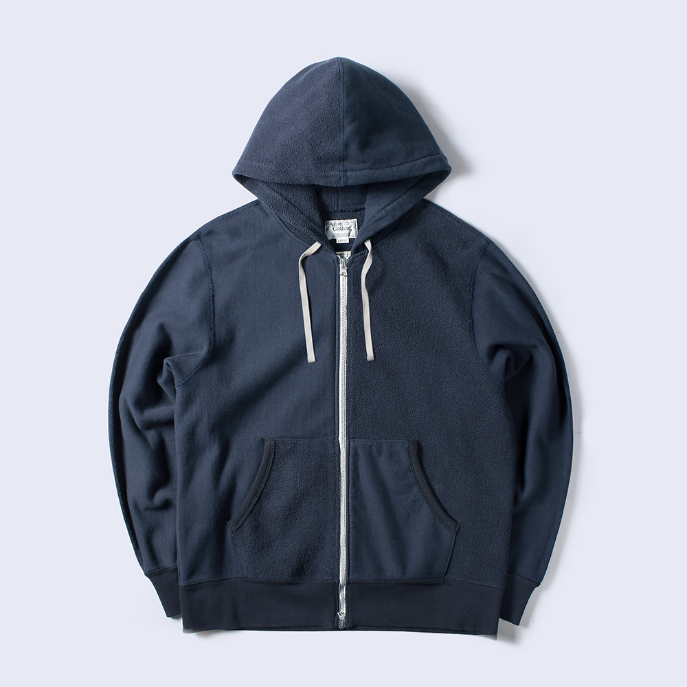 NAMER CLOTHINGHalf Zip-Up Hood(Navy)