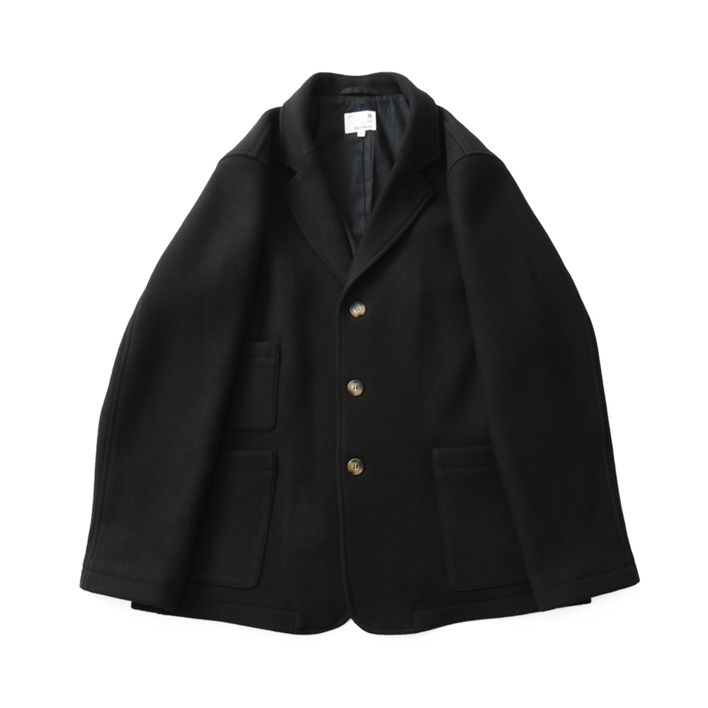 HORLISUNAustin Heavy Wool Jacket(Black)10% Off