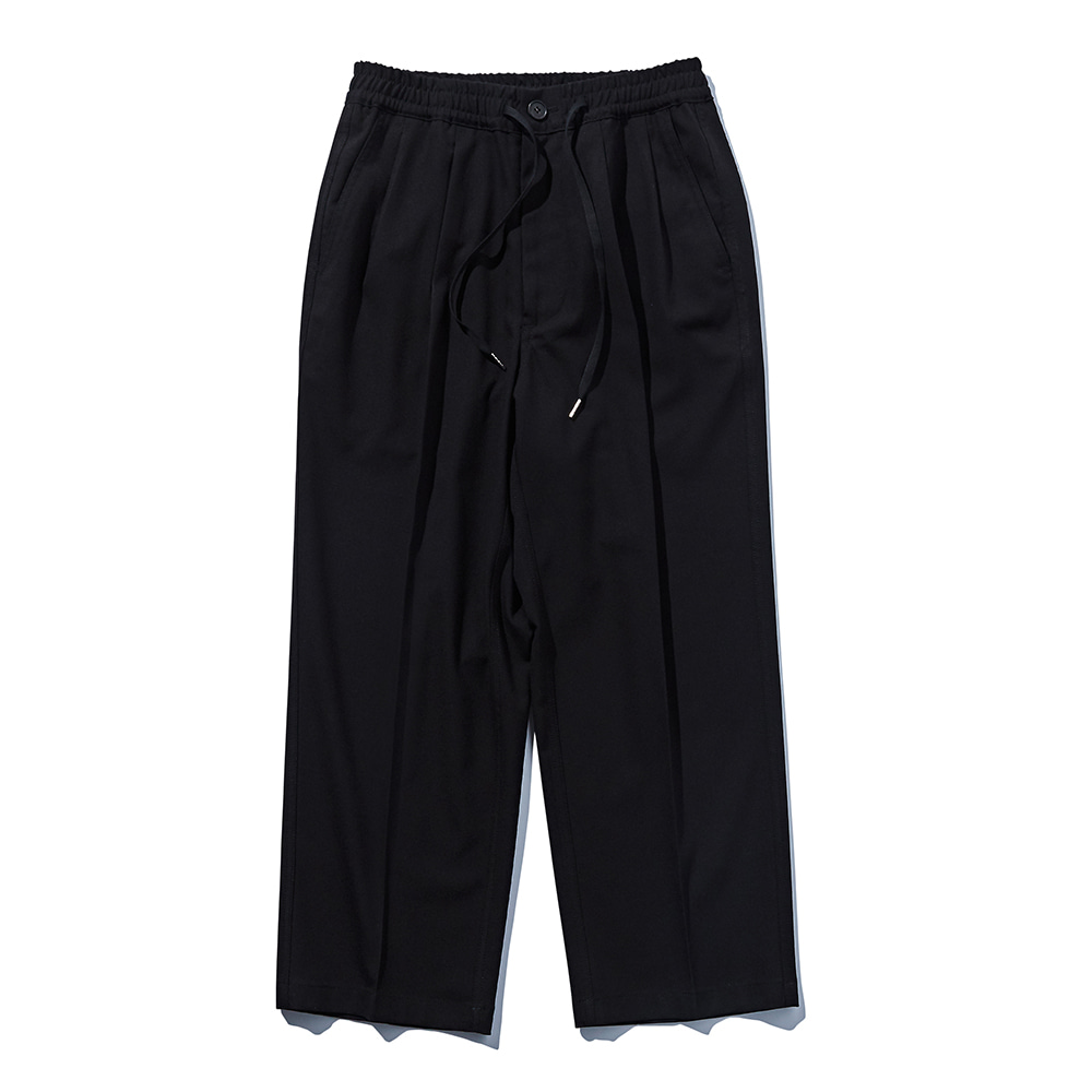 DEUTERODTR1923 Wide Slax Pants(Black)