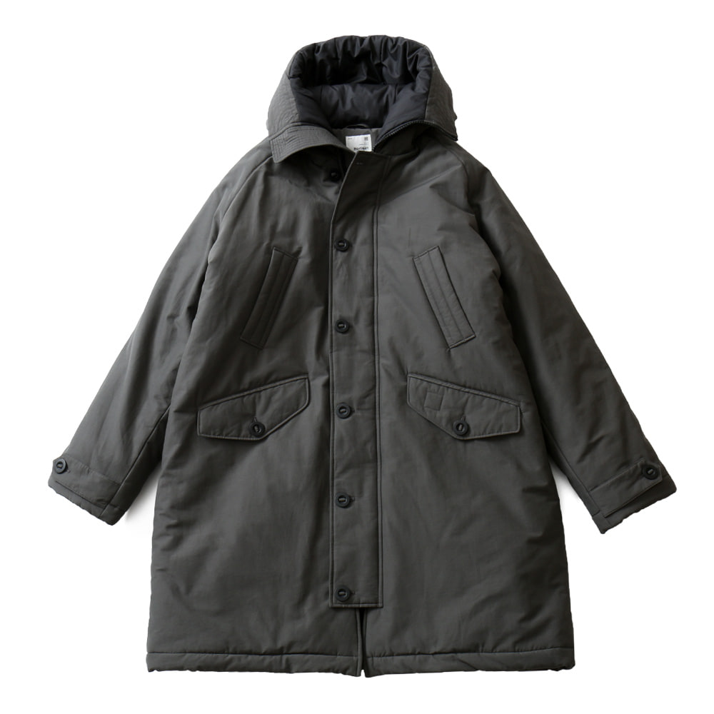 HORLISUNMoscow Padding Hood Coat(Charcoal)10% Off