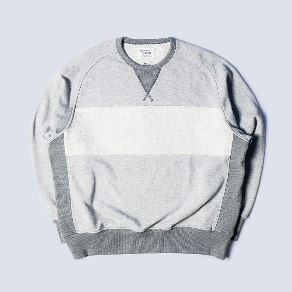 NAMER CLOTHING4th Crewneck(Grey)