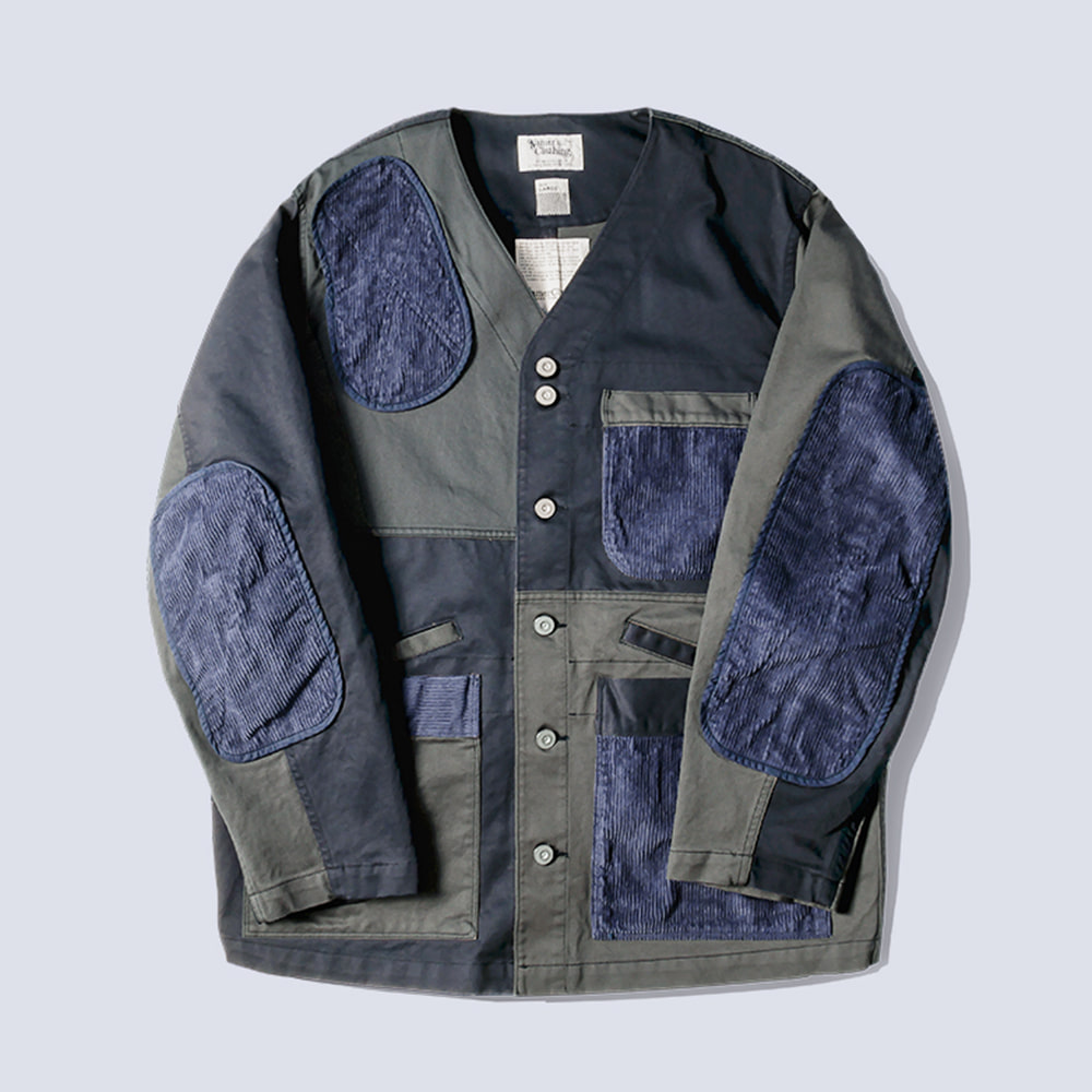 NAMER CLOTHINGMix Shooter Jacket(Navy)