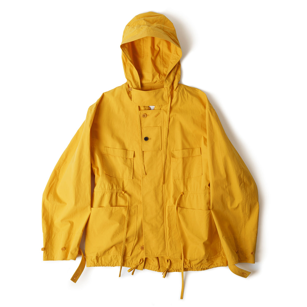 POLYTERUCotton Hooded Parka (Yellow)